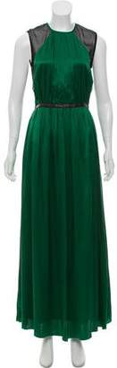 Yigal Azrouel Silk Maxi Dress