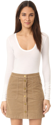 Free People Easy Peasy Tee Bodysuit $58 thestylecure.com