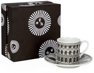 Fornasetti Architettura Espresso Cup and Saucer