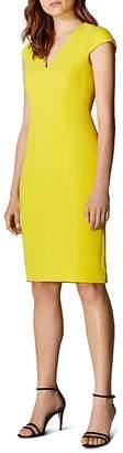 Karen Millen Angular Seamed Sheath Dress