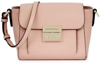 7d2801343fdb at Harvey Nichols · Emporio Armani Pink Faux Leather Cross