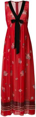 Philosophy di Lorenzo Serafini long floral print dress