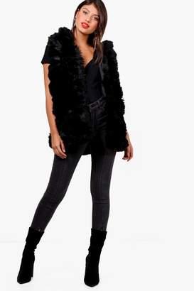 boohoo Nancy Boutique Faux Fur Gilet