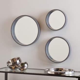 Three Posts 3 Piece Round Wall Mirror Set