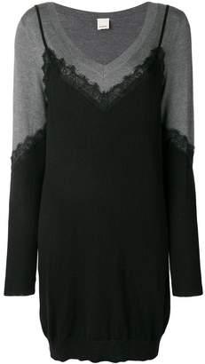 Pinko panel knitted dress