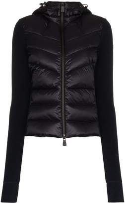 Moncler Maglia feather down fleece jacket