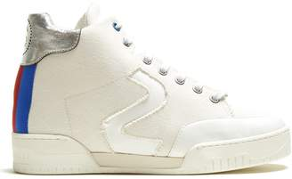 Stella McCartney Stella high-top canvas trainers