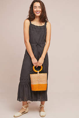 Birds of Paradis by Trovata Amelia Eyelet Maxi Dress