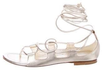 Tamara Mellon Chill Out Wrap-Around Sandals