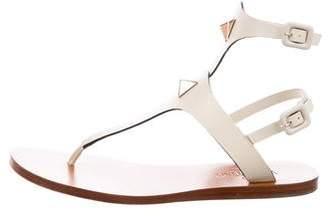 Valentino Rockstud Thong Sandals