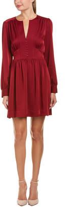 BCBGMAXAZRIA Tie-Waist Shift Dress