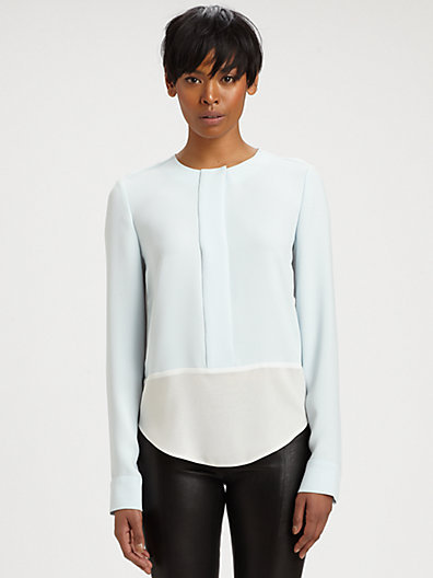 J Brand Ready-To-Wear Sonia Contour Blouse