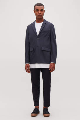 Cos BOXY-FIT WOOL BLAZER