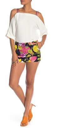Trina Turk Corbin Tropical Print Shorts