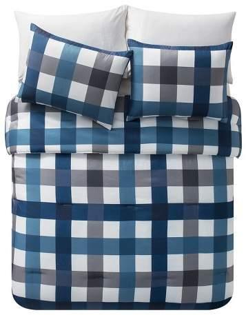 VCNY Navy & Gray Bradley Comforter Set