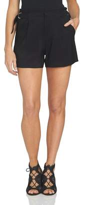 1 STATE 1.State High Waist Flat Front Shorts
