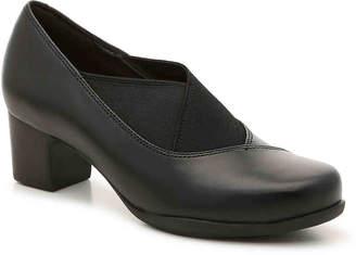 a020cb1a539b Clarks Black Dress Pumps - ShopStyle
