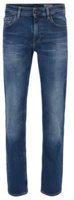 BOSS Hugo Cotton Jean, Slim Fit Orange Helsinki-C 36/36 Blue