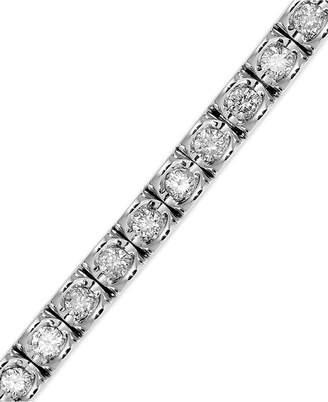 Macy's Diamond (2 ct. t.w.) Bracelet in 14k White Gold