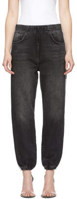 Alexander Wang Grey Track Jeans