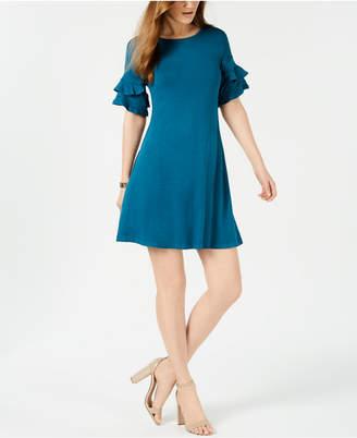 John Paul Richard Petite Tiered-Cuff Dress