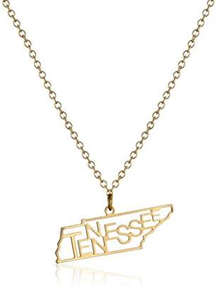 Kris Nations South Dakota State -Plated Necklace