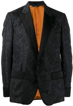 Dolce & Gabbana floral jacquard tuxedo blazer