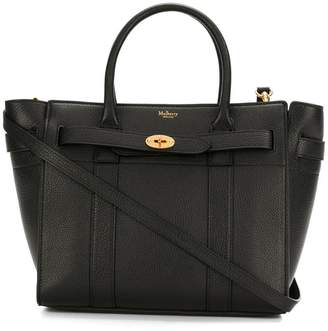 Mulberry zip tote bag