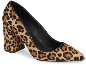 Alice + Olivia Demetra Genuine Calf Hair Pump