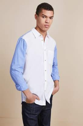 French Connenction Striped Hybrid Shirt