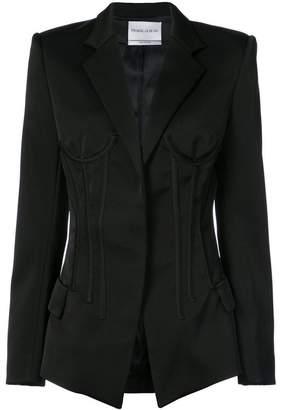 Prabal Gurung Cleo corseted jacket