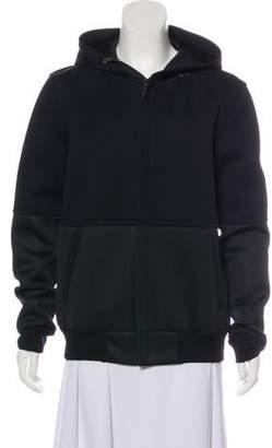 Calvin Klein Collection Hooded Zip-Up Jacket
