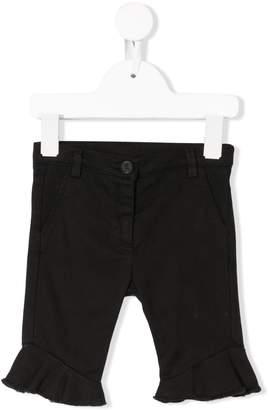 Douuod Kids ruffled hem trousers