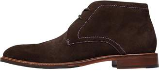 Ted Baker Mens Torsdi 4 Suede Boots Brown