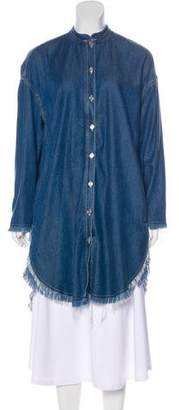 Acne Studios Gracie H Denim Shirtdress