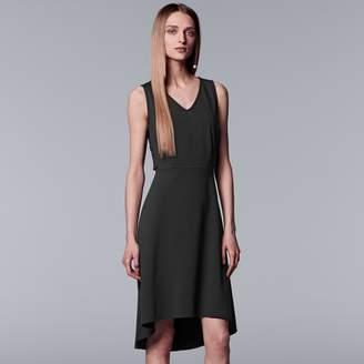 Vera Wang Women's Simply Vera Side-Lace Up Dress