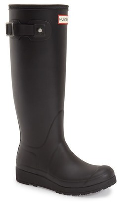 Women's Hunter 'Original Tall- Wedge' Rain Boot $160 thestylecure.com
