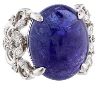 Ring Tanzanite & Diamond