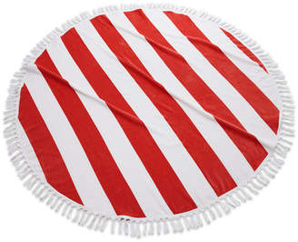 Kassatex Closeout! Cabana Round Cotton Beach Towel Bedding