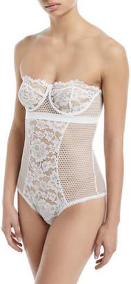 Else Petunia Strapless Corset Bodysuit