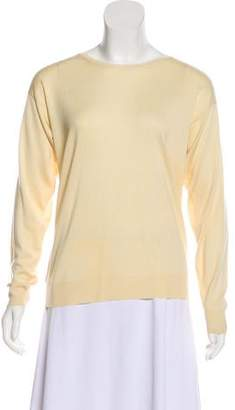 Brunello Cucinelli Cashmere Long Sleeve Sweater