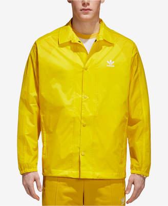 adidas Men's Trefoil adicolor Coach's Jacket