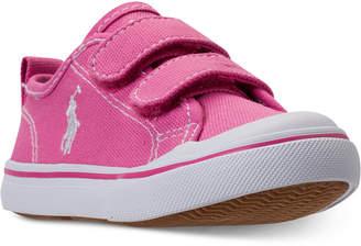 Polo Ralph Lauren Toddler Girls' Karlen Ez Casual Sneakers from Finish Line