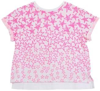 Stella McCartney Star Printed Cotton Jersey T-Shirt