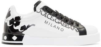 Dolce & Gabbana White Portofino Sneakers