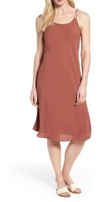 Eileen Fisher Double Strap Silk Slipdress