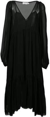 A.L.C. v-neck flared dress