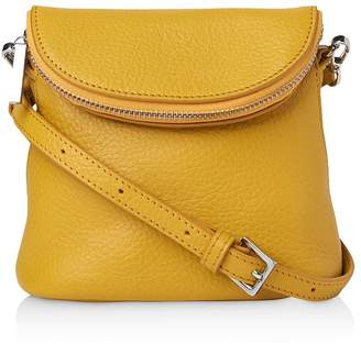 Whistles Mini Victoria Leather Crossbody