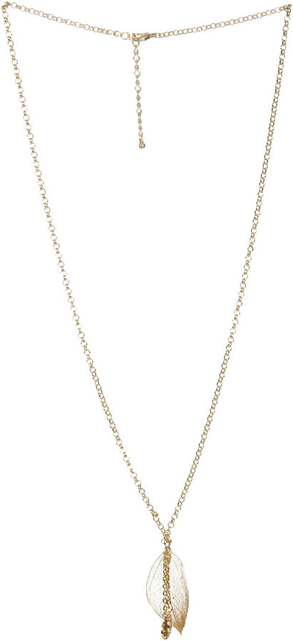 Single Leaf Necklace