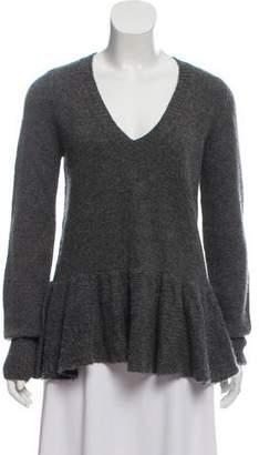 Dries Van Noten Cashmere Flared Sweater
